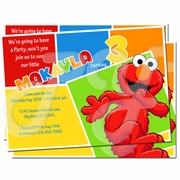 Elmo Personalized Invitations