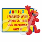 Elmo Personalized Party Favor