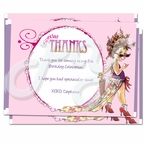 Fancy Nancy Personalized Thank you Cards