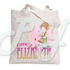 Fancy Nancy Personalized Tote Bag