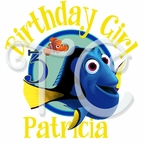 Finding Dory Personalized Birthday t shirt