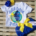 Finding Dory Personalized Petti Lace Birthday Set