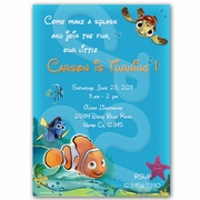 Finding Nemo Personalized Invitation