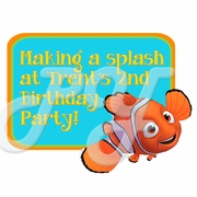 Finding Nemo Personalized Party Favor