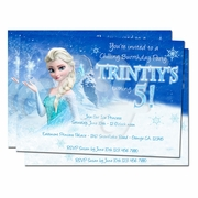 Frozen Personalized Invitations