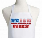 Grill Master American Flag 4th of July Apron