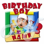 Handy Manny Personalized Birthday t shirt