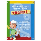 Handy Manny Personalized Invitations
