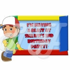Handy Manny Personalized Party Favor