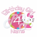 Hello Kitty Personalized Birthday t shirt