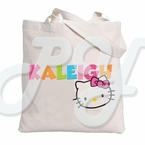 Hello Kitty Personalized Tote Bag