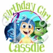Inside Out Personalized Birthday t shirt
