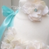 Ivory and Aqua Hydrangea Pearl tutu Dress Set