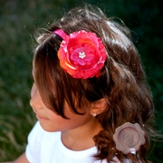 Jeweled Center Flower Headband