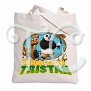 Kung Fu Panda Personalized Canvas Tote Bag