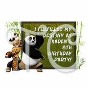 Kung Fu Panda Personalized Party Favor