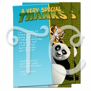 Kung Fu Panda Personalized thank you cards