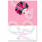 Ladybug Oh So Sweet personalized Thank you Cards