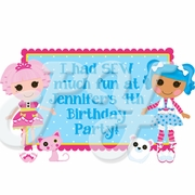 Lalaloopsy personalized party favors