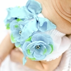 Light Blue and Green Posh Bloomers