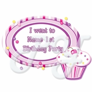 Lil Cupcake Party Favor