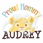 Lion King Baby Shower Personalized t-shirt