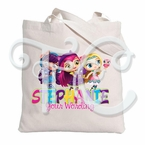 Little Charmers Personalized Tote Bag