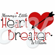 Little Heart Breaker Personalized Valentine's Day t shirt