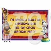 Madagascar personalized party favor