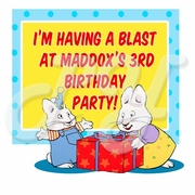Max and Ruby Personalized Party Favor