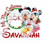 Mickey and Minnie Christmas t shirt