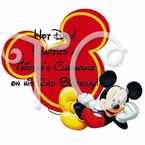 Mickey Mouse Clubhouse personalized party favor