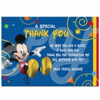 Mickey Mouse Clubhouse Personalized Thank you cards