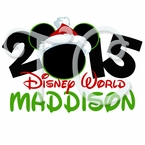 Mickey Mouse Disney World Personalized Christmas t shirt