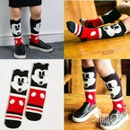 Mickey Mouse Knee High Socks