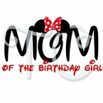 Minnie Mouse Family Personalized Birthday t shirt