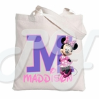 Minnie Mouse Personalized  Tote Bag