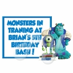Monsters University Personalized Party Favors