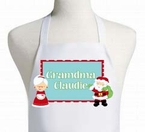 Mr & Mrs Claus personalized Christmas Apron