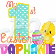My 1st Easter Personalized t shirt