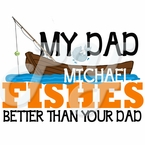 My______ Fishes Better T-shirt