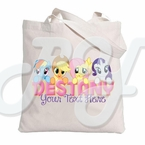 My little Pony personalized tote bag