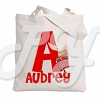 Olivia Personalized Tote Bag