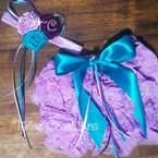 Peacock Lavender Petti Lace Bloomers/Shots