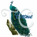 Peacock Personalized t-shirt