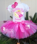 Peppa Pig Personalized Birthday tutu set