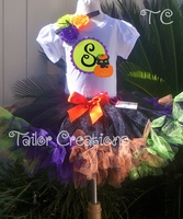 Personalized Halloween Petti Tutu Set