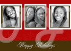 Personalized Holiday Greeting photo Cards