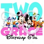 Personalized Minnie Mouse Birthday t shirt
