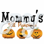 Personalized Mommy Pumpkin Halloween t shirt